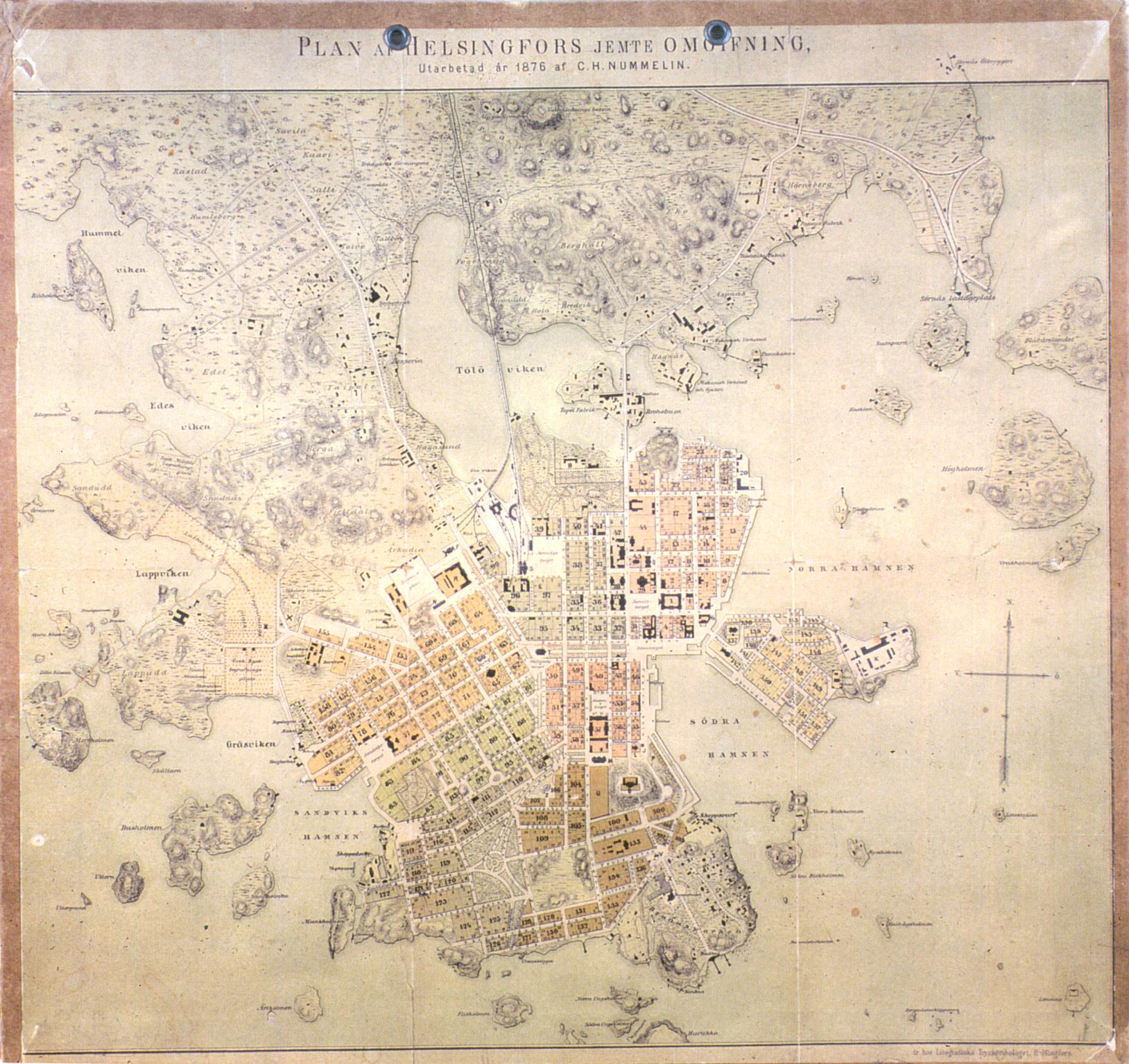 Kartta Hakasalmi