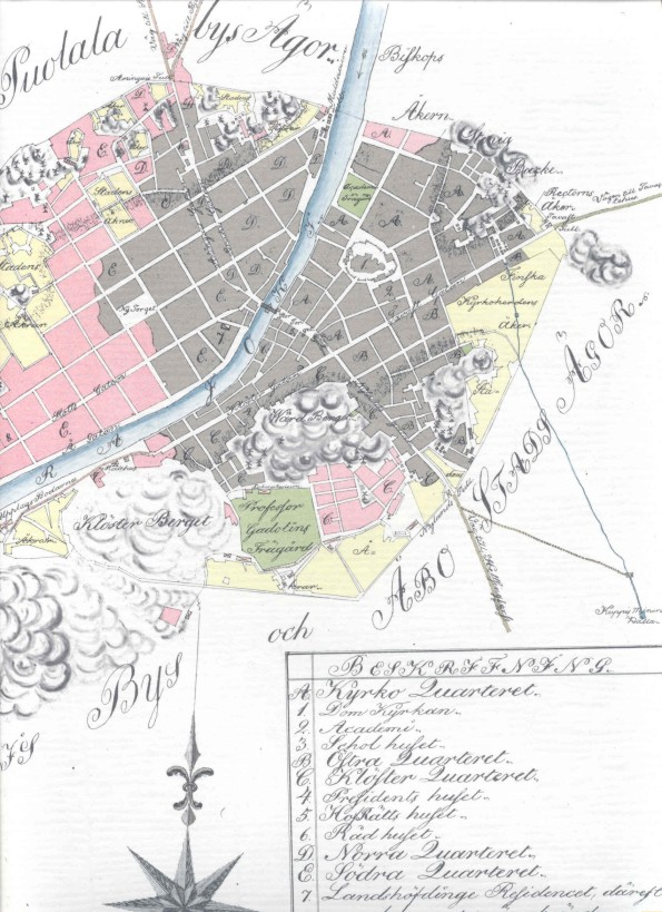 Turku kartta tilaus
